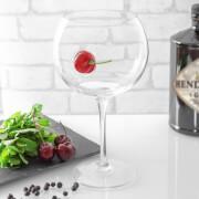 Ice & Slice Balloon Copa Glass - Cherry