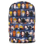 Loungefly Star Wars Chibi Nylon Backpack