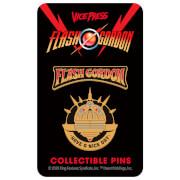 Flash Gordon Limited Edition Hard Enamel Pin Set 2 by Florey