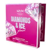 NYX Professional Makeup Diamonds and Ice Please 12 Day Lipstick Advent Calendar Christmas Countdown