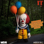 Mezco Stephen Kings IT 1990 MDS Deluxe Action Figure Pennywise 15 cm