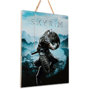 Doctor Collector Skyrim Aereal Wood Art - Limited Edition
