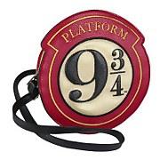 Harry Potter Platform 9 3/4 Faux Leather Shoulder Bag   Red