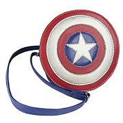 Marvel Avengers Captain America Shield Faux Leather Shoulder Bag