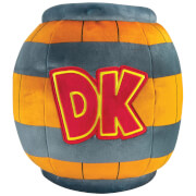 Mario Kart Mega Donkey Kong Barrel Plush Toy