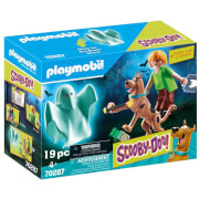 Playmobil SCOOBY DOO! Scooby And Shaggy With Ghost (70287)