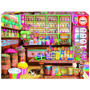 Candy Shop Jigsaw Puzzle (1000 Pieces)