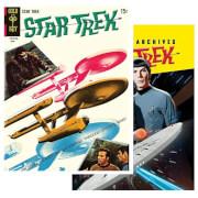 Star Trek Graphic Novels Tin Plates Set of 2
