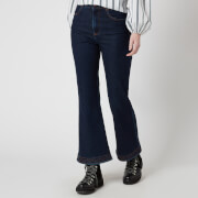 See by Chloe Women's Kickflare Jeans - Denim Blue - W26