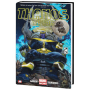 Marvel Comics Thanos Rising Hardcover Novel