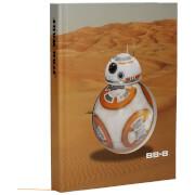 Star Wars E7 Light Up Notebook BB-8 Desert Style