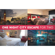 One Night City Hotel Escape for Two