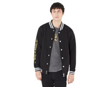 Legend Of Zelda Secrets And Legends Unisex Varsity Jacket - Black/Black