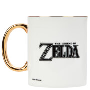 Legend Of Zelda Bone China Gold Handle Mug