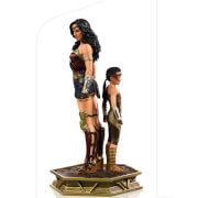 Iron Studios Wonder Woman 1984 Deluxe Art Scale Statue 1/10 Wonder Woman & Young Diana 20 cm