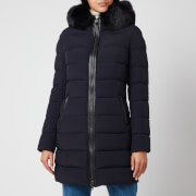 Mackage Women's Calla-Bx Light Down Coat with Hood - Navy - M