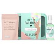 Купить Isle of Paradise Glow All The Way Scrub-Tan-Glow-Repeat