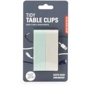 Kikkerland Tidy Table Clips