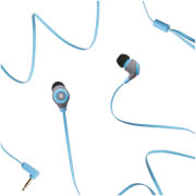 Swipe Note Wired Earphones - Blue