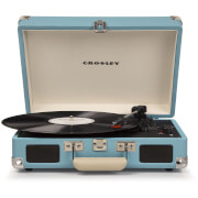 Cruiser Deluxe Portable Turntable (Turquoise)