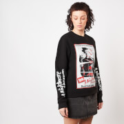 A Nightmare On Elm Street Dont Fall Asleep Women's Sweatshirt - Black