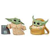 Hasbro Star Wars The Bounty Collection The Child Speeder Ride and Touching Buttons 2 Pack Figures