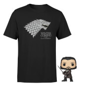 Winter Is Coming - Game Of Thrones Pop! & Tee
