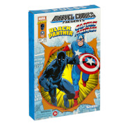 Hasbro Marvel Legends RETRO 9,5 cm Collection Captain America & Black Panther 2-Pack Actionfigur