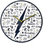 Harry Potter Infographic Clock 10 Inch
