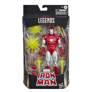 Hasbro Marvel Legends Iron Man Silver Centurion Action Figure