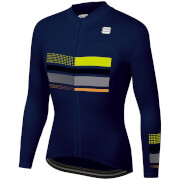 Sportful Wire Thermal Jersey - M - Blue
