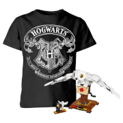 Lot Harry Potter Lego Hedwige + T-shirt Enfant