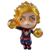Hot Toys Cosbaby Marvel Avengers: Endgame - Captain Marvel (Binary Form Version) Figure