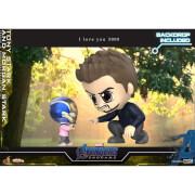 Hot Toys Cosbaby Marvel Avengers: Endgame - Tony Stark & Morgan Stark (Set of 2) Figure