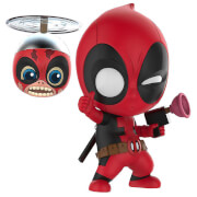 Hot Toys Cosbaby Marvel Comics - Deadpool & Headpool (Set of 2) Figure