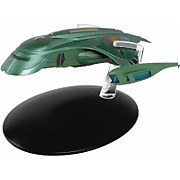 Eaglemoss Star Trek Die Cast Ship Replica - Romulan Shuttle Starship Model