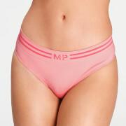 MP Women's Essentials Seamless Thong - Geranium Pink