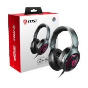 MSI IMMERSE GH50 7.1 Virtual Surround Sound RGB USB Gaming Headset