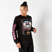 Back To The Future Flux Capacitor 80s Sweatshirt - Black