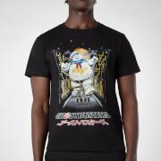 Camiseta Cazafantasmas Stat Puft Kanji Attack - Negro - Hombre