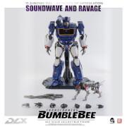 ThreeZero Transformers: Bumblebee DLX Scale Collectible Figure - Soundwave And Ravage