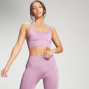 MP Women's Tatiana Shape Seamless Ultra Sports Bra - Pink
