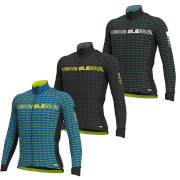 Alé Graphics Prr Green Road Winter Long Sleeve Jersey - XXL - Black/White