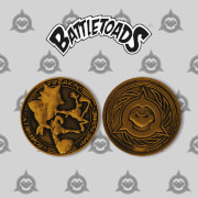 Battletoads Exclusive Limited Edition Coin - Rare Store Exclusive