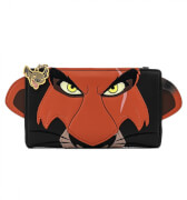 Loungefly Disney The Lion King Scar Cosplay Flap Wallet