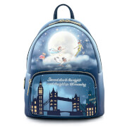 Loungefly Disney Peter Pan Second Star Glow Mini Backpack