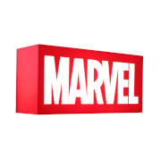 Hot Toys Marvel Logo Mini Lightbox - UK Exclusive