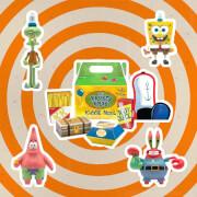 Super7 SpongeBob SquarePants ReAction Action Figure 4-Pack