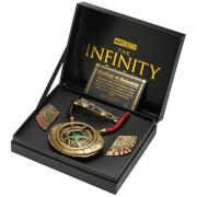 Réplique Doctor Strange - Broches de cape de lévitation, anneau de fronde & Œil d'Agamotto (exclusivité mondiale)