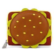 Loungefly Spongebob Plankton Krabby Patty Zip Around Wallet